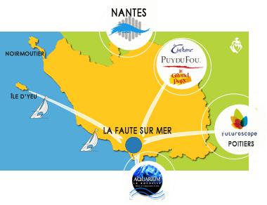 La Vendée et la Faute sur Mer