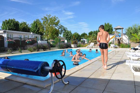 Camping calme avec piscine à la Faute sur Mer